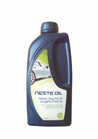 Моторное масло NESTE City Pro W Longlife III SAE 5W-30 ( (1л)