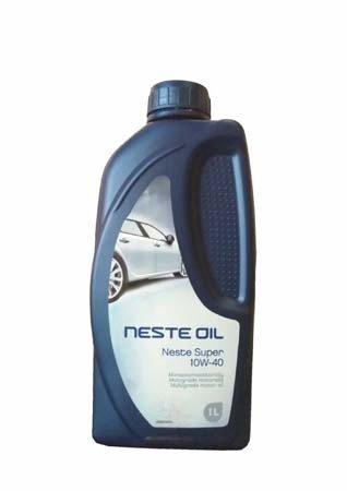 Моторное масло NESTE Super SAE 10W-40 (1л)