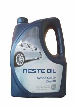 Моторное масло NESTE Super SAE 10W-40 (4л)