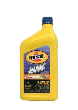 Моторное масло для 2-Такт лод. мот. PENNZOIL Marine Premium Plus 2-Cycle (0,946л)