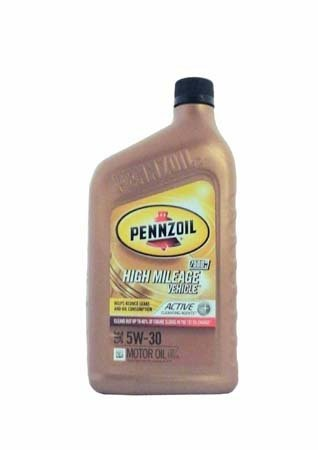 Моторное масло PENNZOIL High Mileage Vehicle SAE 5W-30 (0,946л)