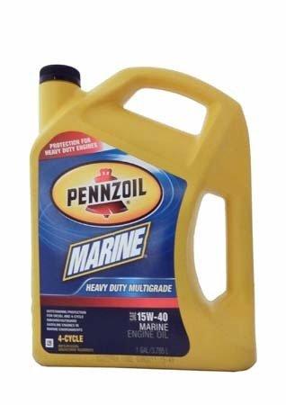 Моторное масло для 4-Такт лод. мот. PENNZOIL Marine Heavy Duty Multigrade 4-Cycle SAE 15W-40 (3,785л