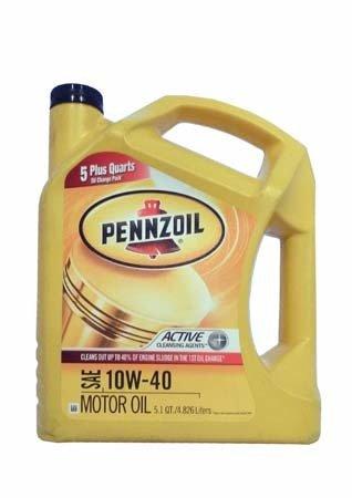 Моторное масло PENNZOIL SAE 10W-40 (4,826л)**