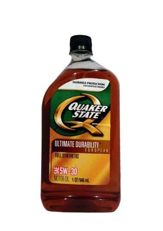 Моторное масло QUAKER STATE Ultimate Durability European SAE 5W-30 (0,946л)
