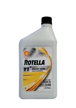 Моторное масло SHELL Rotella T1 40 (0,946л)
