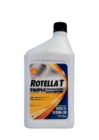 Моторное масло SHELL Rotella T Triple Protection SAE 10W-30 (0,946л)