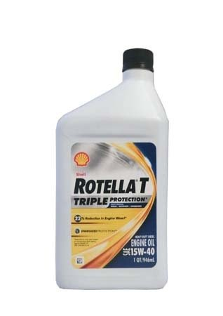 Моторное масло SHELL Rotella T Triple Protection SAE 15W-40 (0,946л)