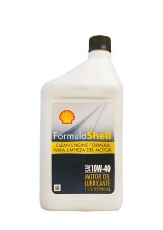 Моторное масло SHELL Formula Shell  SAE 10W-40 (0,946л)