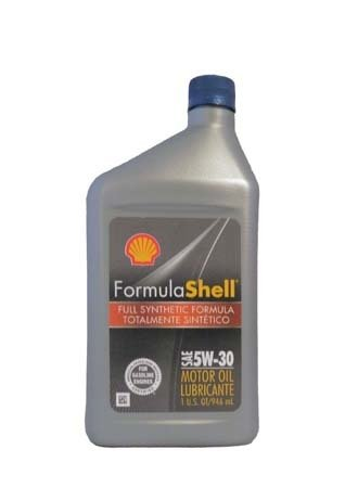 Моторное масло SHELL Formula Shell Full Synthetic Motor Oil SAE 5W-30 (0,946л)
