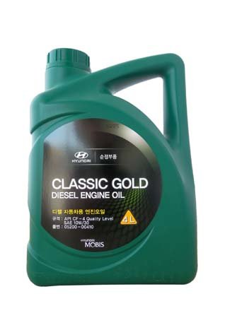 Масло моторное HYUNDAI MOBIS Classic Gold Diesel 10W30 4L