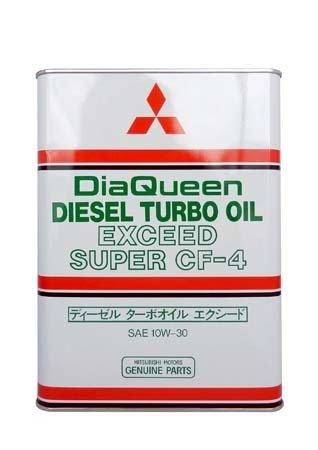 Моторное масло MITSUBISHI Diesel Super SAE 10W-30 CF-4 (4л)
