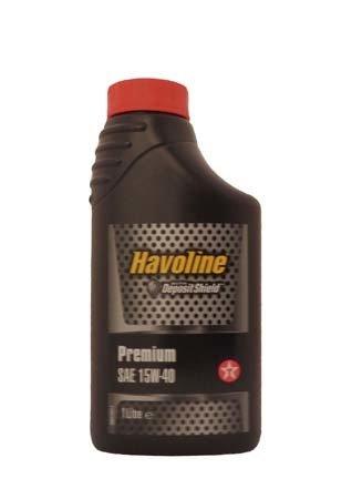 Моторное масло TEXACO Havoline Premium SAE15W-40 (1л)