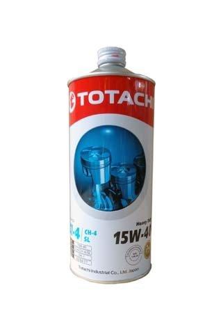 Моторное масло TOTACHI Heavy Duty CI-4/CH-4/SL SAE 15W-40 (1л)