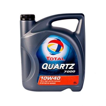 Моторное масло TOTAL QUARTZ 7000, 10W-40, 4л, 148593
