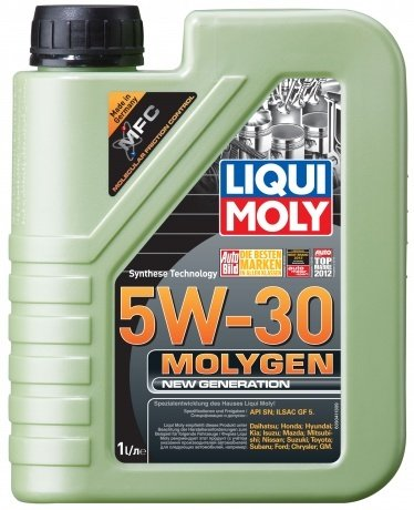 НС-синтетическое моторное масло LIQUI MOLY Molygen New Generation 5W-30 (1л.)