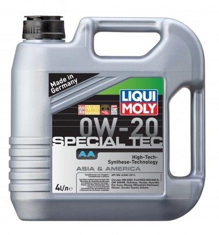 НС-синтетическое моторное масло LIQUI MOLY Special Tec AA 0W-20 (4л.)