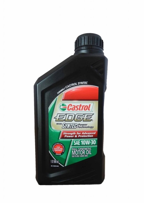 Моторное масло CASTROL EDGE With Syntec Power Technology, 10W-30, 0.946л, 06245