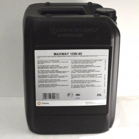 Моторное масло STATOIL Maxway, 10W-40, 20л, 1001008