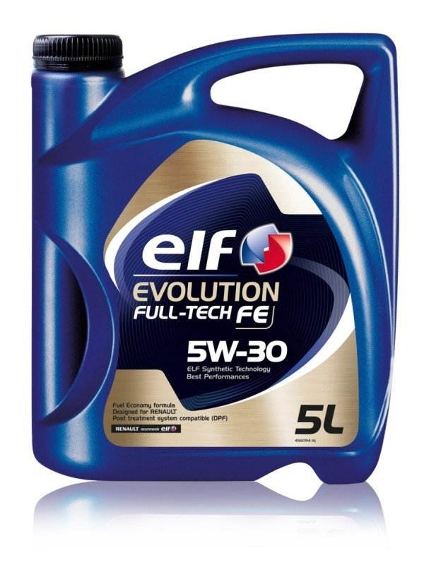 Моторное масло ELF Evolution Full-Tech FE, 5W-30, 5л, 194908