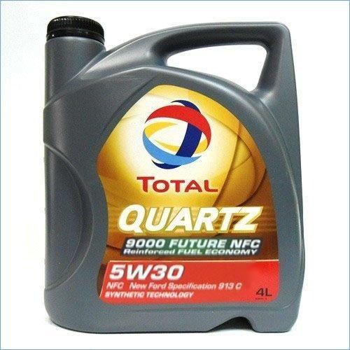 Моторное масло TOTAL QUARTZ 9000 FUTURE NFC, 5W-30, 4л, 183450