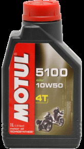 Моторное масло MOTUL 5100 ESTER 4T, 10W-50, 1л, 102778