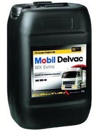 Моторное масло Mobil DELVAC MX EXTRA, 10W-40, 20л