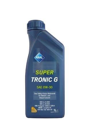 Моторное масло ARAL SuperTronic G SAE 0W-30 (1л)