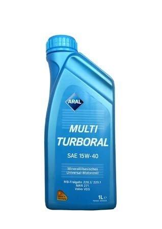 Моторное масло ARAL MultiTurboral SAE 15W-40 (1л)