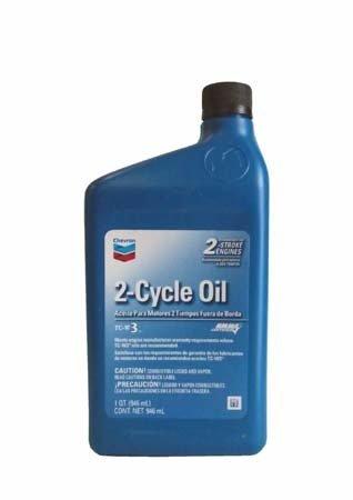 Моторное масло для 2т.лодочных моторов CHEVRON 2-Cycle Oil TC-W3 (0.946л)