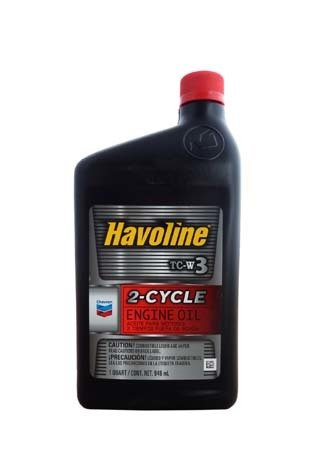 Моторное масло для 2т.лодочных моторов CHEVRON Havoline 2-Cycle TC-W3 (0,946л)