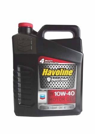 Моторное масло CHEVRON Havoline Motor Oil SAE 10W-40 (3,785л)