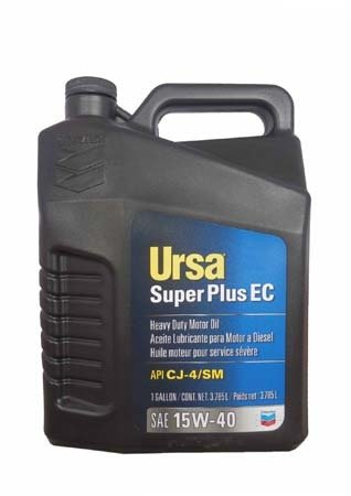 Моторное масло CHEVRON Ursa Super Plus EC SAE 15W-40 (3,785л)