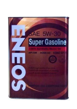 Моторное масло ENEOS Super Gasoline SAE 5W-30 (4л)