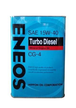 Моторное масло ENEOS Turbo Diesel SAE 15W-40 (4л)