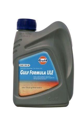 Моторное масло GULF Formula ULE SAE 5W-30 (1л)