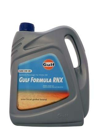 Моторное масло GULF Formula RNX SAE 5W-30 (4л)