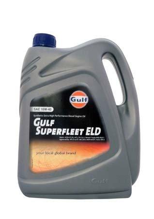Моторное масло GULF Superfleet ELD SAE 10W-40 (4л)