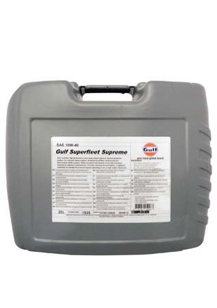 Моторное масло GULF Superfleet Supreme SAE 10W-40 (20л)