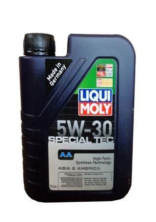 НС-синтетическое моторное масло LIQUI MOLY Special Tec AA 5W-30 (1л.)