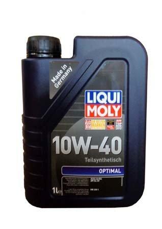 Полусинтетическое моторное масло LIQUI MOLY Optimal 10W-40 (1л.)