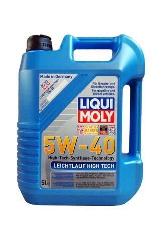 НС-синтетическое моторное масло LIQUI MOLY Leichtlauf High Tech 5W-40 (5л.)