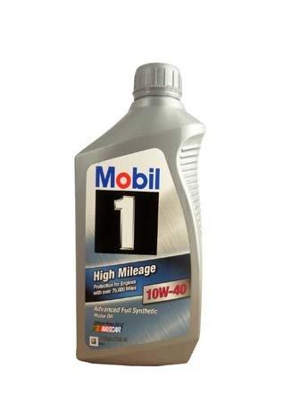 Моторное масло MOBIL 1 High Mileage SAE 10W-40 (0,946л)