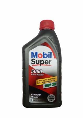 Моторное масло MOBIL Super 5000 SAE 10W-30 (0,946л)