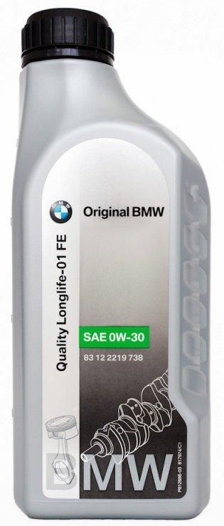 Моторное масло BMW Longlife-01 FE, 0W-30, 1л, 83 12 2 219 738
