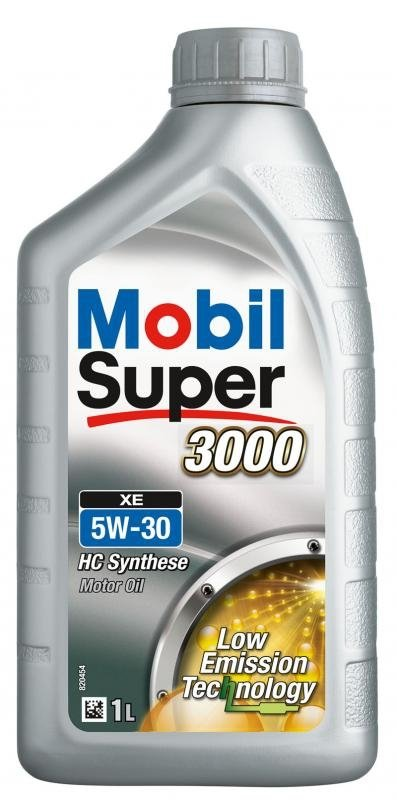 Моторное масло Mobil Super 3000 XE, 5W-30, 1л