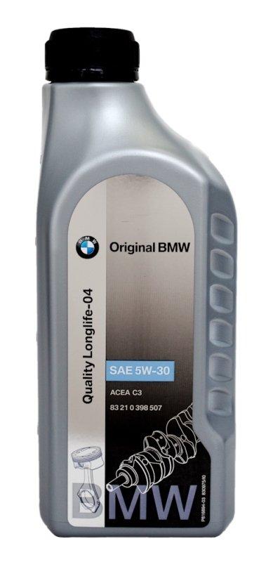 Моторное масло BMW M Quality Longlife-04, 5W-30, 1л, 83 21 0 398 507