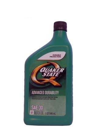 Моторное масло QUAKER STATE Advanced Durability SAE 30 (0,946л)