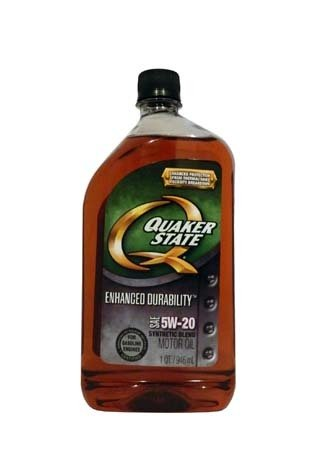 Моторное масло QUAKER STATE Enhanced Durability SAE 5W-20 (0,946л)