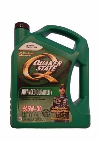 Моторное масло QUAKER STATE Advanced Durability SAE 5W-30 (4,826л)