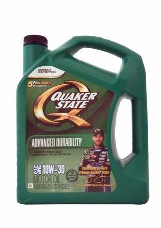 Моторное масло QUAKER STATE Advanced Durability SAE 10W-30 (4,826л)
